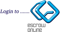 Log in to Harbinger's escrow management system